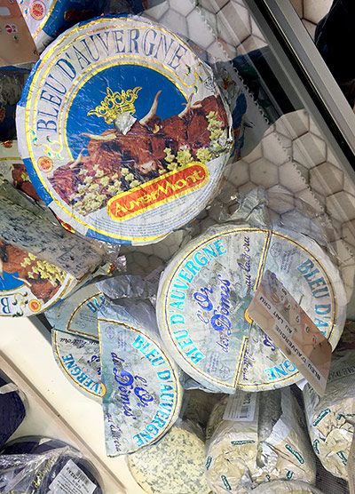 Cheeses from Auvergne