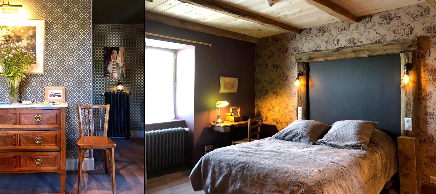 Chambres d h tel de charme la nature au mont dore for Hotel mont dore avec piscine interieure